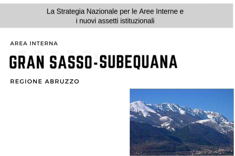 Aree Interne: Strategia Gran Sasso - Subequana