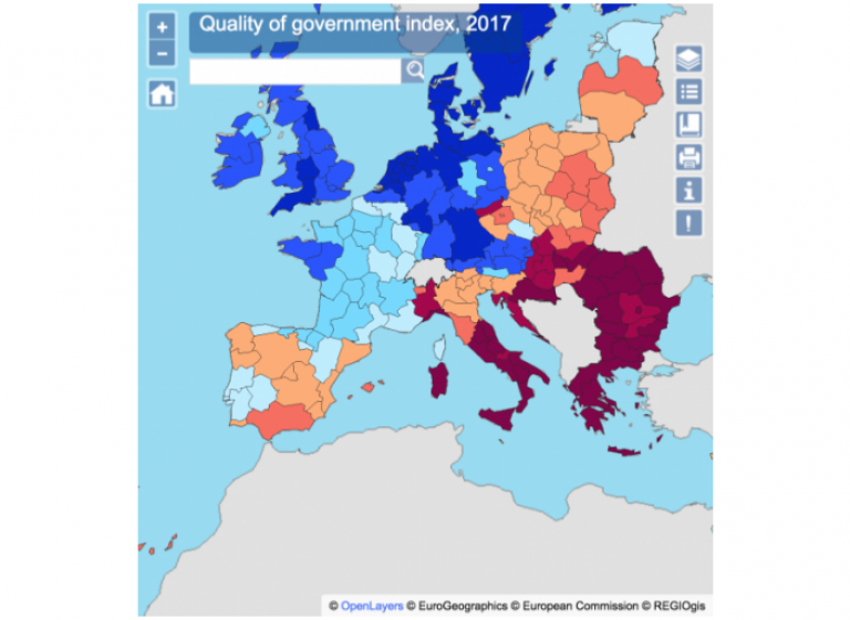Quality of government index
