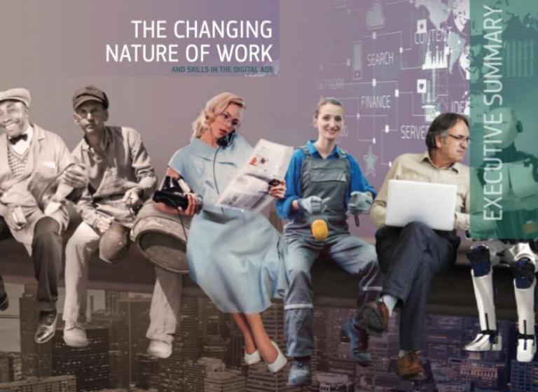 Report the changing nature of work